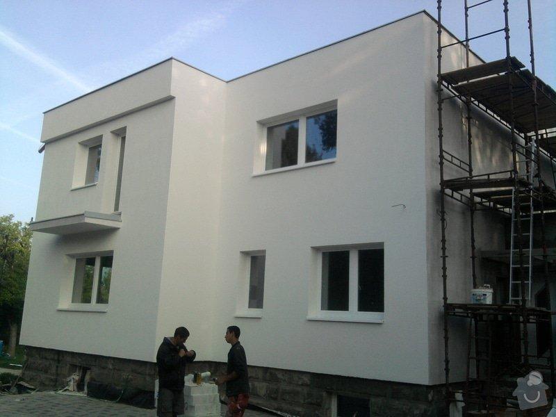 Dodělání zateplení + akryl fasáda 280 m2: Fotografie0474