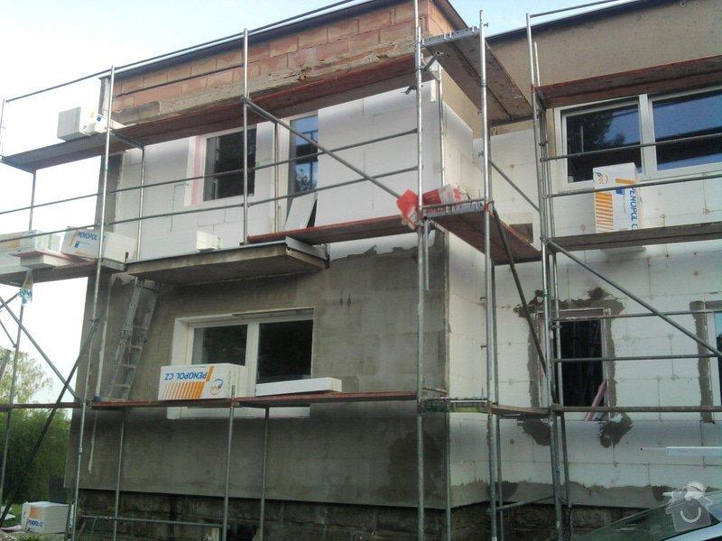 Dodělání zateplení + akryl fasáda 280 m2: Fotografie0467