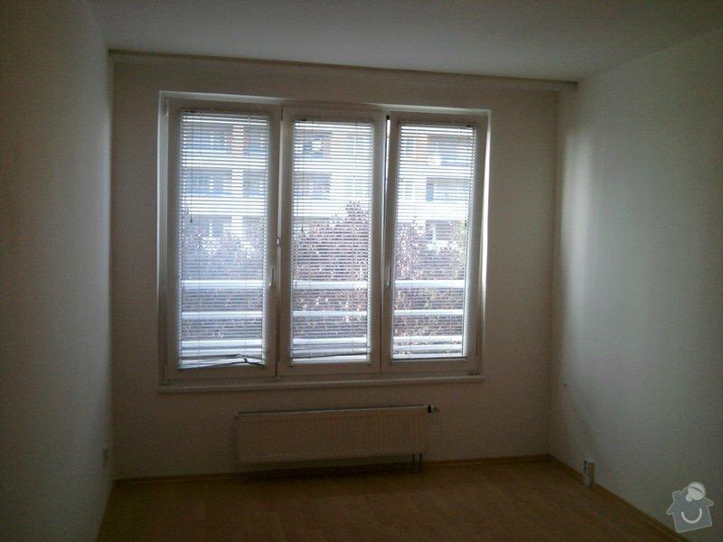Malování panelového bytu 3+kk na bílo: Fotografie0106