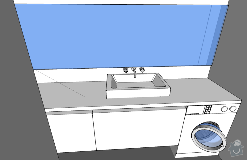 Koupelnový nábytek na míru: pohled_04