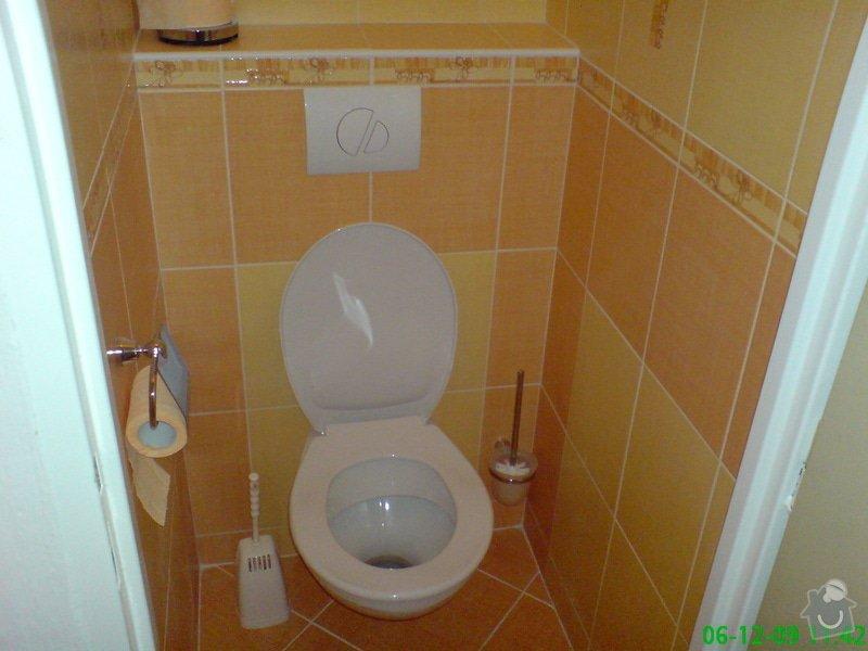 Rekonstrukce bytového jádra,koupelny,WC: DSC00014