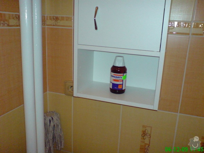 Rekonstrukce bytového jádra,koupelny,WC: DSC00019