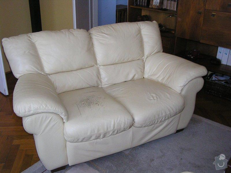 Oprava sedáku kožené sedačky: p1010007