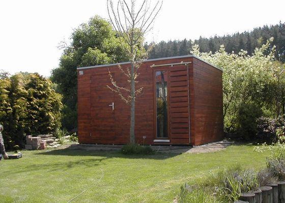 Výroba zahradního domku