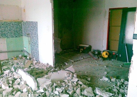 Rekonstrukce části bytu a bytového jádra