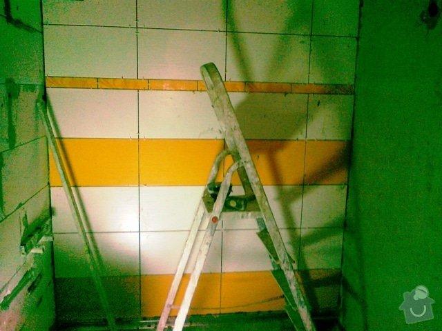 Rekonstrukce části bytu a bytového jádra: 22062012326