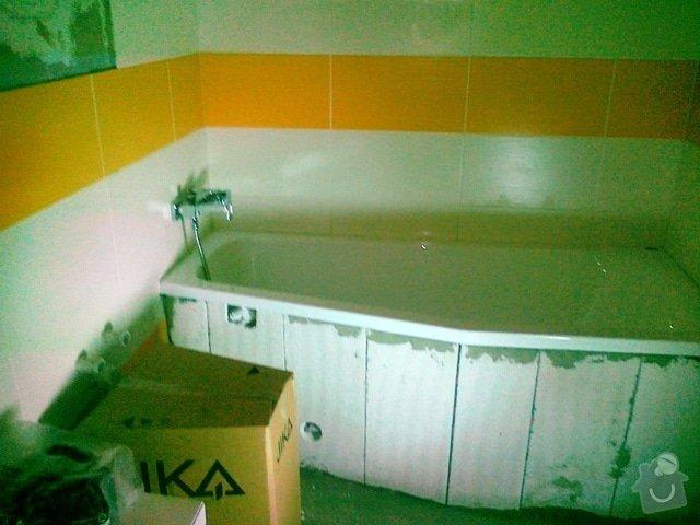 Rekonstrukce části bytu a bytového jádra: 27062012330