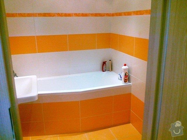 Rekonstrukce části bytu a bytového jádra: 17082012478