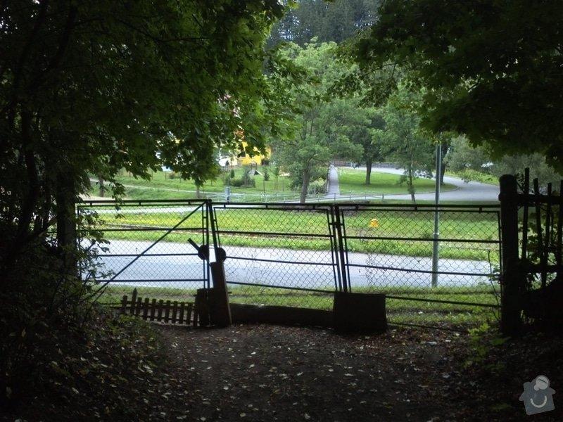 Montáž vjezdové brány na pozemek: IMG560