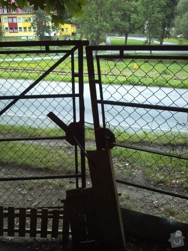 Montáž vjezdové brány na pozemek: IMG563
