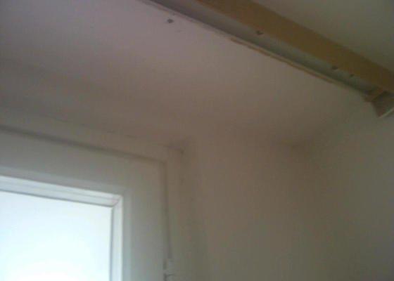 Instalace sdk podhledů z důvodu zakrytí nových rozvodů elektroinstalace