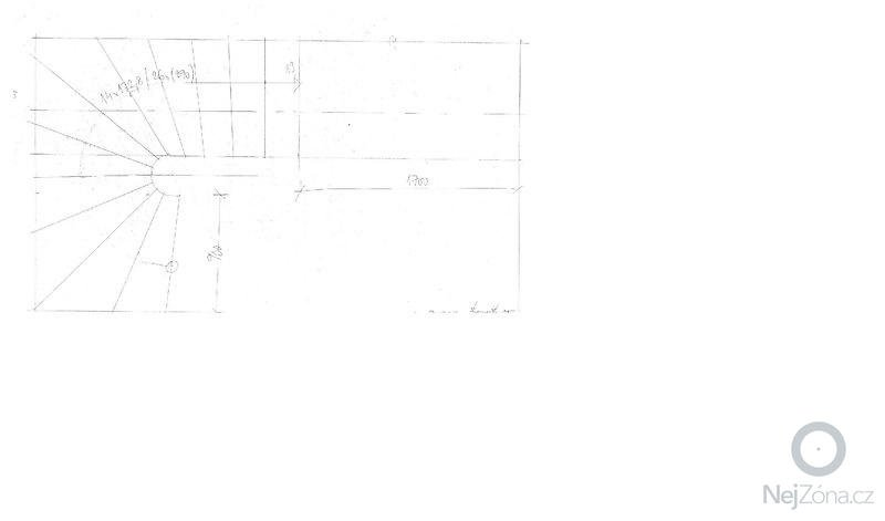Povrchová úprava betonového schodiště (stěrkování): schema