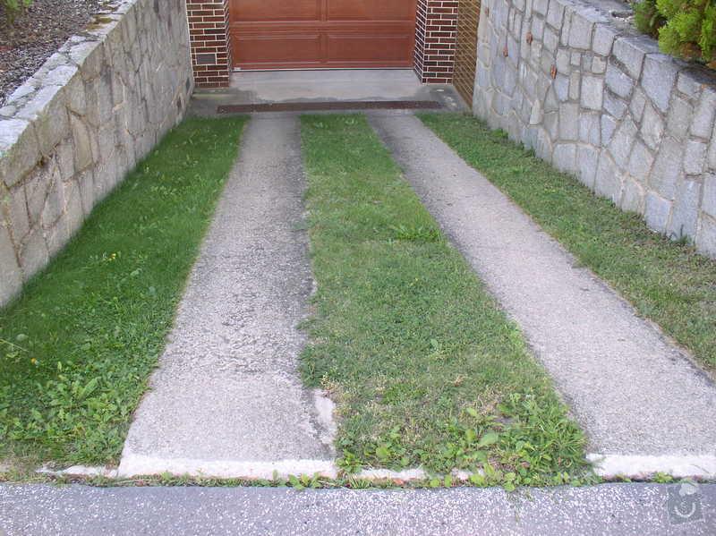 Zámkovou dlažbu o výměře 53 m2: vjezd_do_garaze