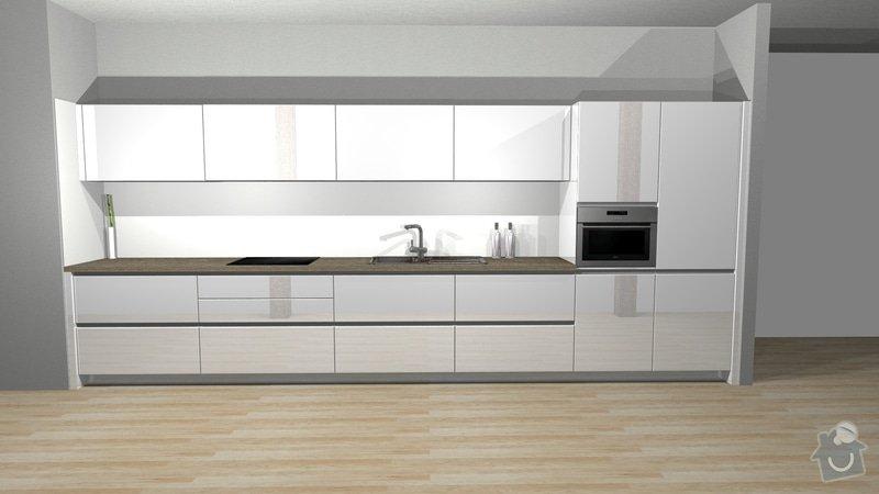 Vyroba kuchynske linky: K7407_varianta2