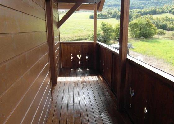 Konstrukce balkónu a zábradlí