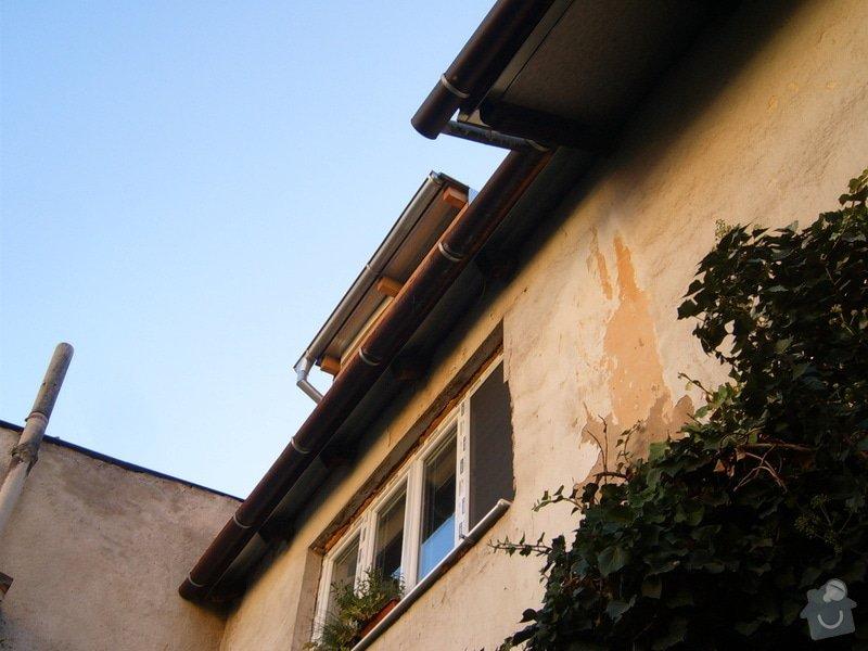 Podbití střechy, omítnutí půdní nádstavby: S3705443