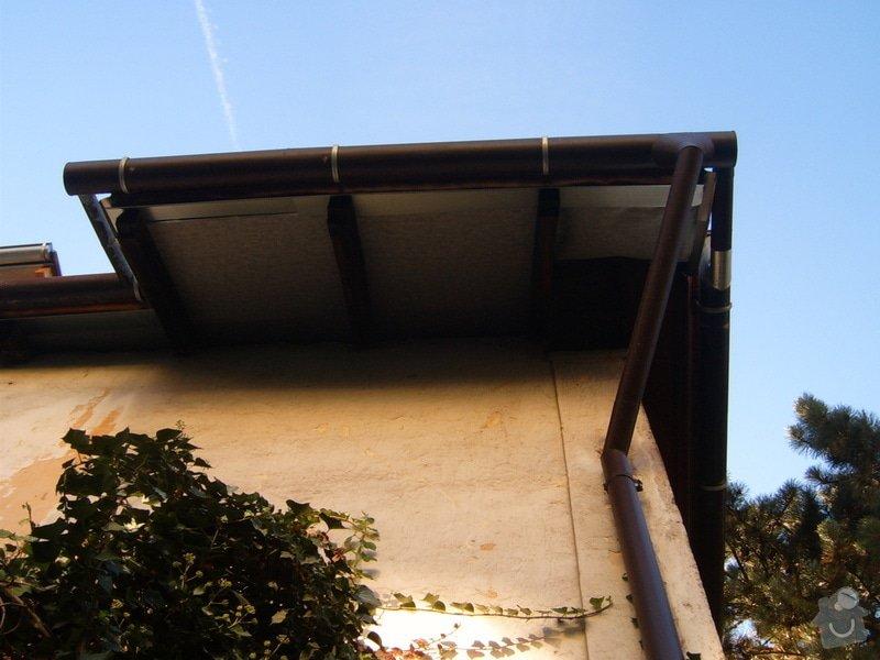 Podbití střechy, omítnutí půdní nádstavby: S3705442