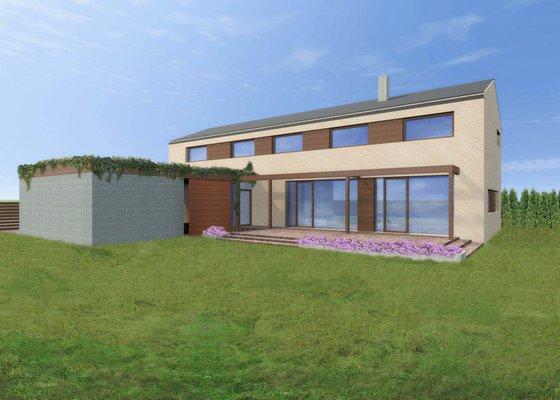 Architektonická studie, projekt pro stavební povolení a realizaci stavby