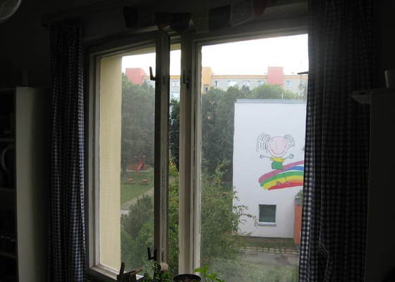 Výměna oken v bytě za plastová