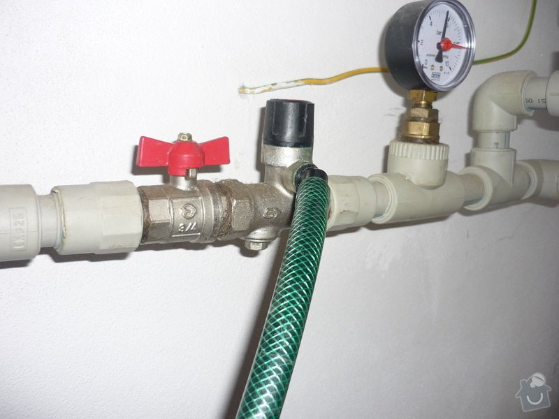 Výměna pojistného ventilu bojleru: P1010554