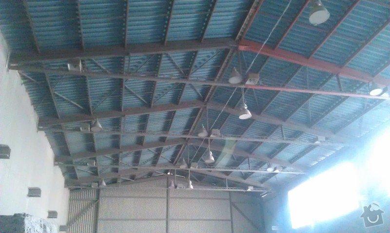 Nátěr ocelové konstrukce haly: IMAG0770