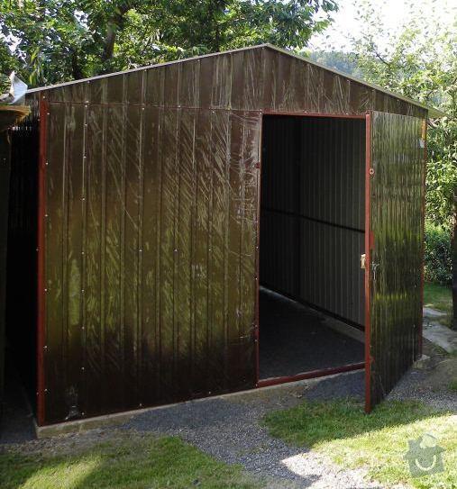 Plechová garáž: DSCN0936