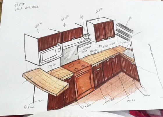 Rekonstrukce koupelny a kuchyně v Líšni