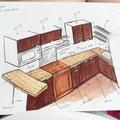 Rekonstrukce koupelny a kuchyne v lisni kuchnavrh