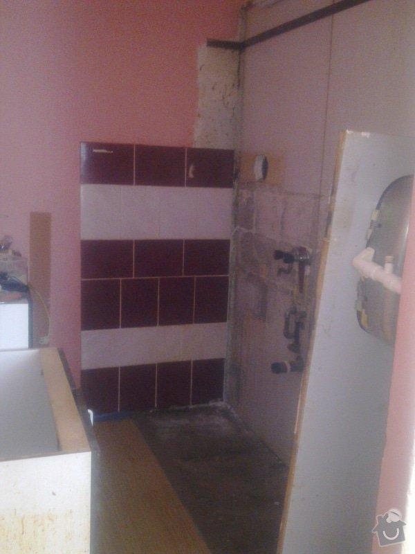 Rekonstrukce koupelny a kuchyně v Líšni: Obraz0407