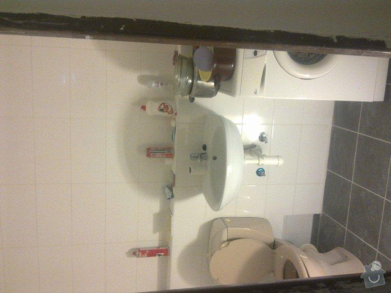 Rekonstrukce koupelny a kuchyně v Líšni: Obraz0448