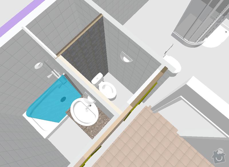 Kompletní instalatérské práce při rekonstrukci bytového jádra: novymodel1