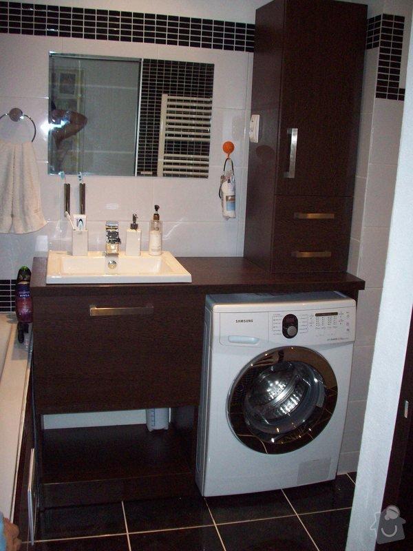 Truhlářské práce, nábytek do koupelny: 100_2607
