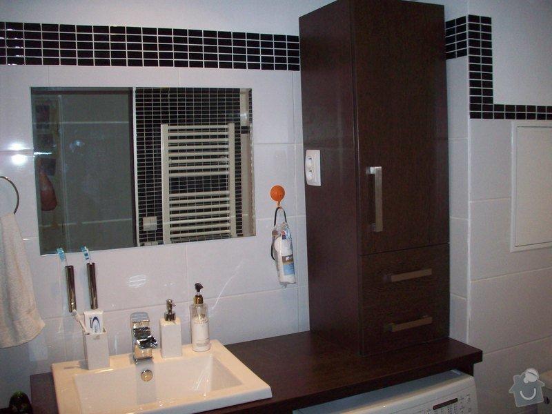 Truhlářské práce, nábytek do koupelny: 100_2609