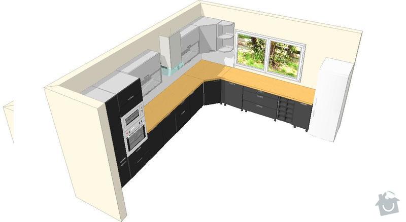 Výroba a montáž kuchyšké linky.: honig_a
