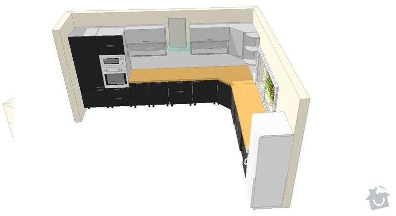 Výroba a montáž kuchyšké linky.: honig_b