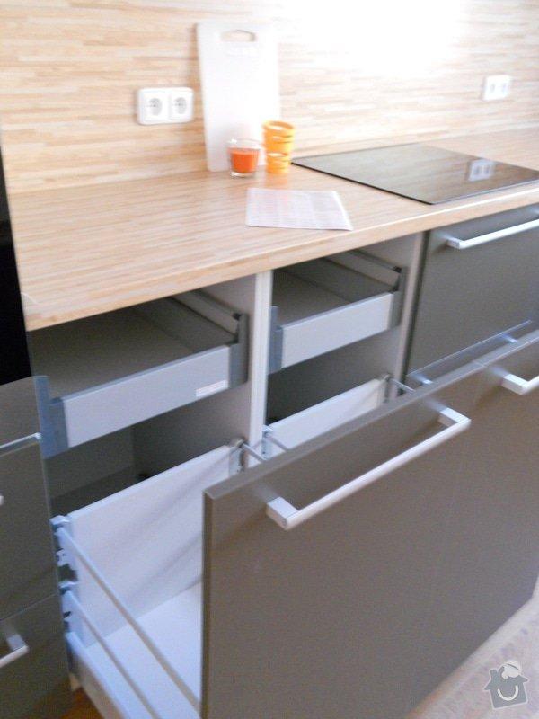 Výroba a montáž kuchyšké linky.: DSCN1297