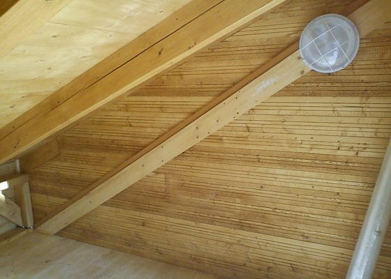 Elektroinstalace v dřevostavbě/kůlně