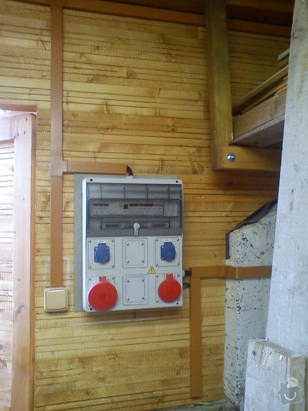 Elektroinstalace v dřevostavbě/kůlně: DSC00808