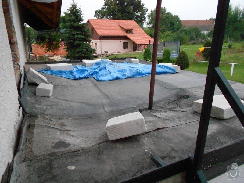 Rekonstrukce izolace a stresni krytiny (veranda): veranda_strecha_1