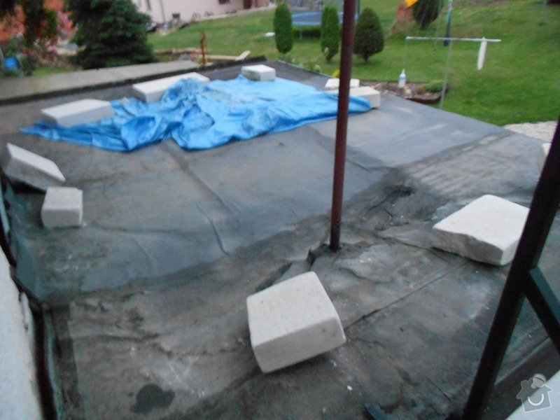 Rekonstrukce izolace a stresni krytiny (veranda): veranda_strecha_2