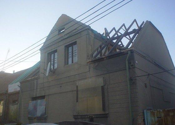 Rekonstrukce střechy Nýřany