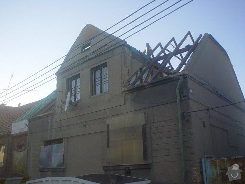 Rekonstrukce střechy Nýřany: DSC03697