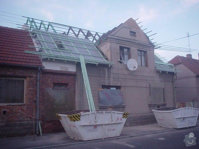 Rekonstrukce střechy Nýřany: DSC03715