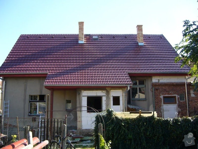 Rekonstrukce střechy Nýřany: P1070368