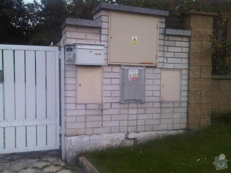 """Oprava """"kapličky"""" s přípojkou plynu / elektřiny: 3"""
