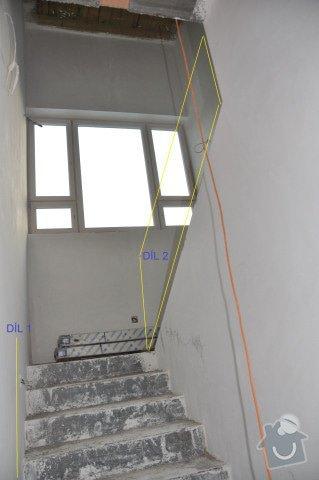 Dodávku skleněného zábradlí s dřevěným madlem: DSC_0141_126