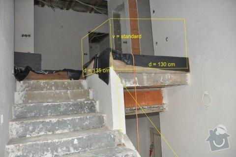 Dodávku skleněného zábradlí s dřevěným madlem: DSC_0146_129