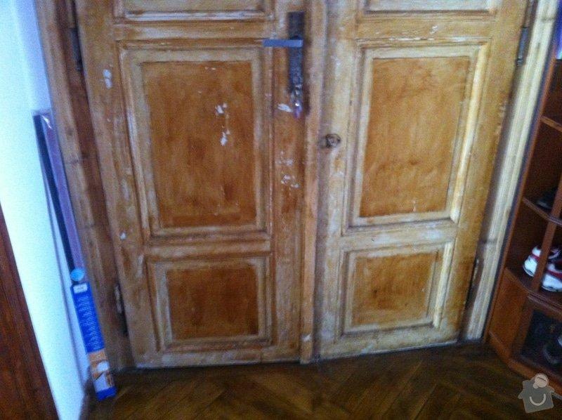 Renovace vstupních dveří: IMG_1250
