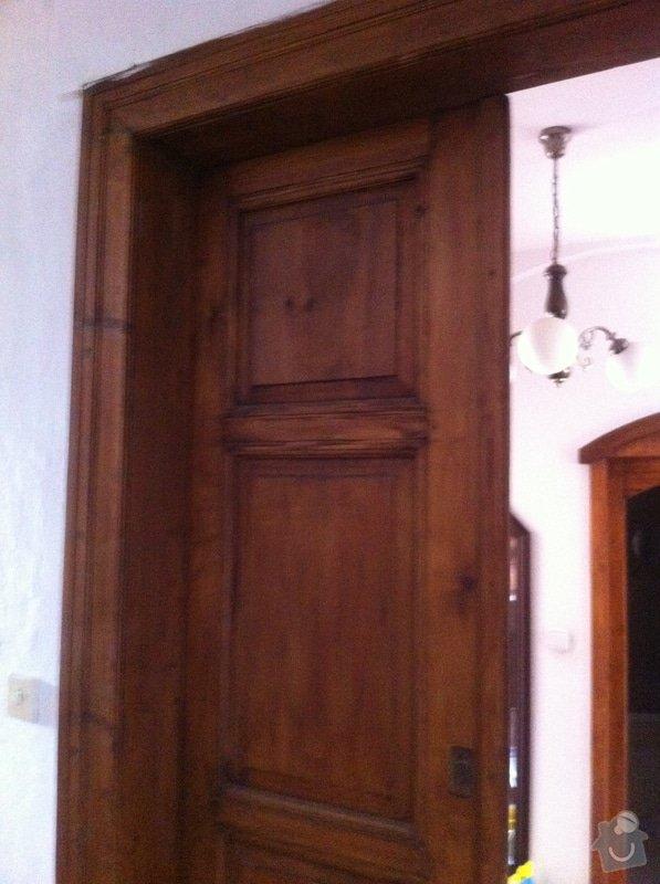 Renovace vstupních dveří: IMG_1253