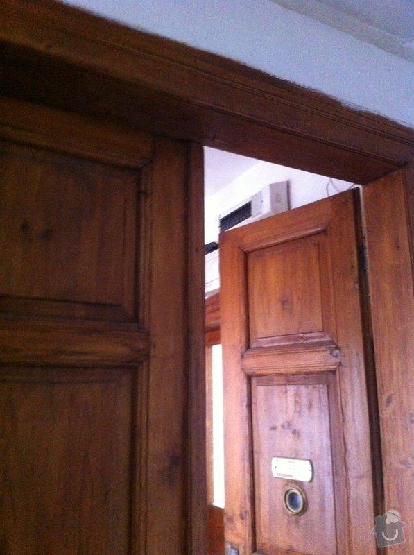 Renovace vstupních dveří: IMG_1255